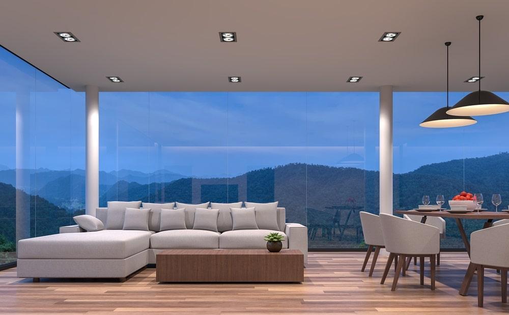 diferenciais das fachadas de vidro