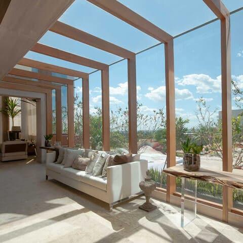Conforto térmico, visual e acústico com vidros especiais