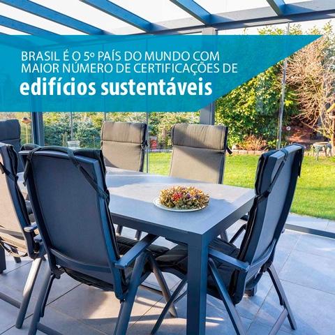 Brasil é o 5º país do mundo com maior número de certificações de edifícios sustentáveis